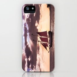 Scarlet sails iPhone Case