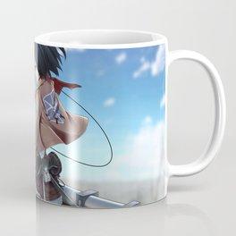Mikasa Ackerman v1 Coffee Mug