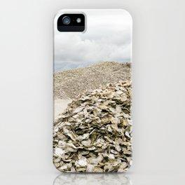 Oyster Shell Mounds, Seafood Fishing Industry, Washington, Northwest iPhone Case