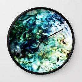 River Water Wall Clock