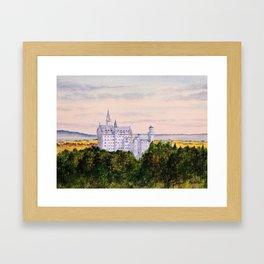 Neuschwanstein Castle Bavaria Germany Framed Art Print