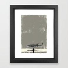 Whaleshark Framed Art Print