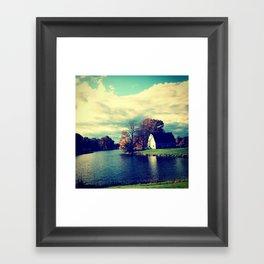 Autumn Pond Framed Art Print