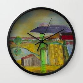 Alien Vacation Wall Clock
