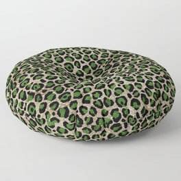 Beautiful Leopard Pattern Floor Pillow