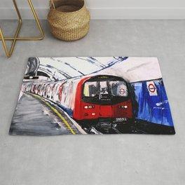 London Underground Northern Line Fine Art Rug