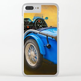 MG Sports Car Clear iPhone Case
