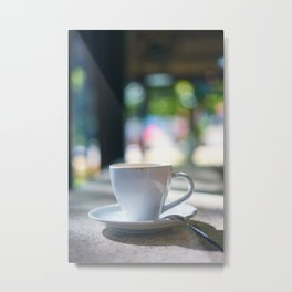 Cup of ca Metal Print