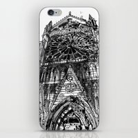takmaj iPhone & iPod Skins featuring Notre Dame by takmaj