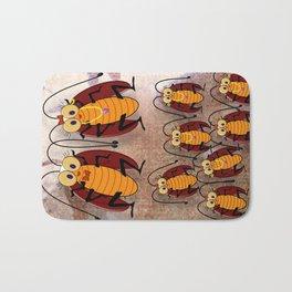 Cockroaches Bath Mat
