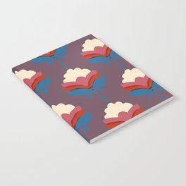 Retro fall florals- n. 2 Notebook