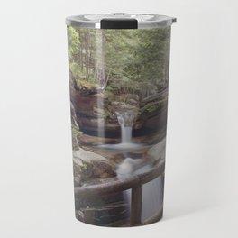 Sabbaday Falls Landscape Travel Mug
