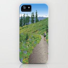 Silver Star Mountain iPhone Case