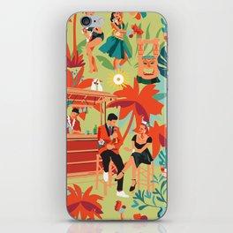 Resort living iPhone Skin