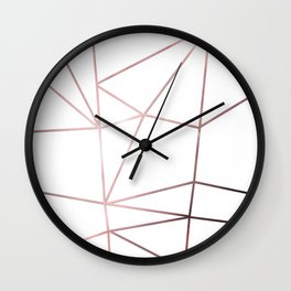 Metal nodes Wall Clock
