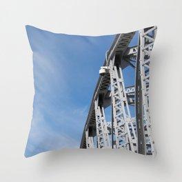 Span of Time Throw Pillow