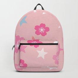 Stars 'n Sakura Blossoms Backpack