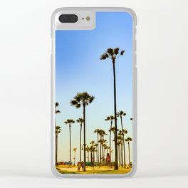 Venice beach CA. Clear iPhone Case