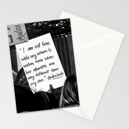 WOMEN'S MARCH 2018 Stationery Cards