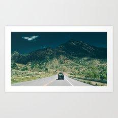 Synchro Bus Colorado Art Print