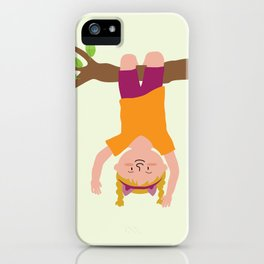 Positively Girly - tree iPhone Case