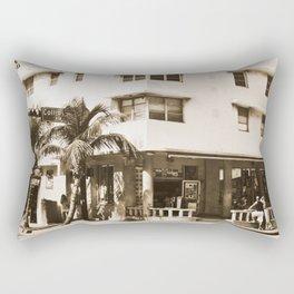 Collins Avenue, Miami Beach Rectangular Pillow