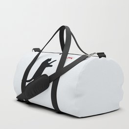 Cat and X-Wing Duffle Bag
