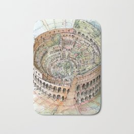 The Colosseo City Bath Mat