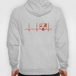 Urban Planner Heartbeat Hoody
