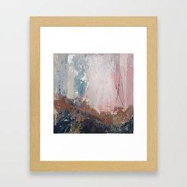 Painting Art Yoga Landscape I Framed Art Print