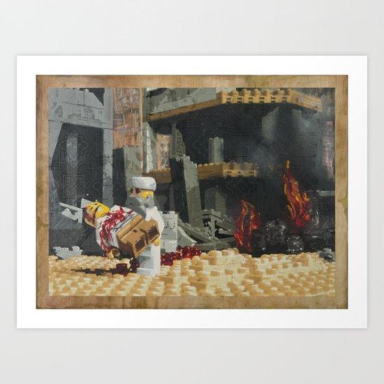 Death of the Innocent, Khost, Afghanistan Art Print