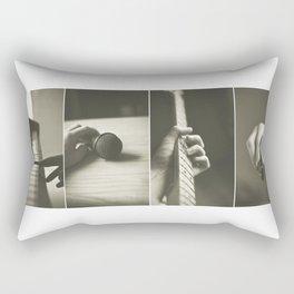 For Music Lovers! Rectangular Pillow