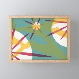 Retro Faze Framed Mini Art Print