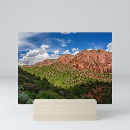 Spring, Lee's_Pass, Kolob_Canyons - Zion Mini Art Print