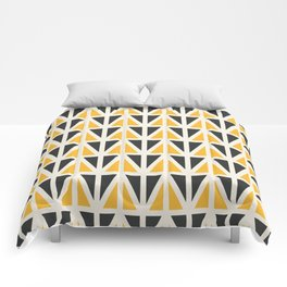 Sunny Triangles Comforters