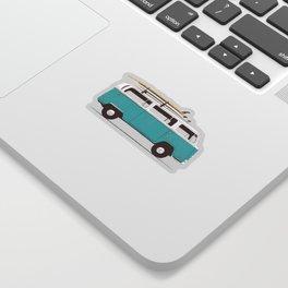 Van - Blue Sticker