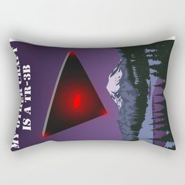 My Other Craft Is A TR-3B Rectangular Pillow