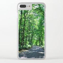 Precious Privacy Clear iPhone Case