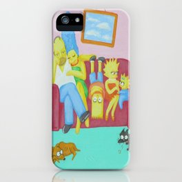 Family Values iPhone Case