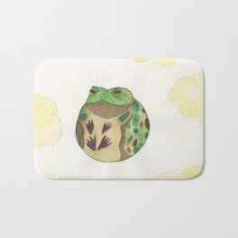 Toad In The Sky Bath Mat
