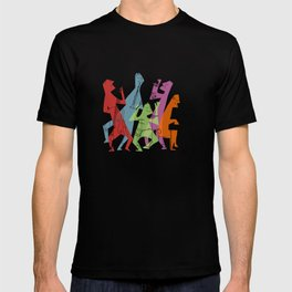 Mid-Century Modern Jazz Band T-shirt