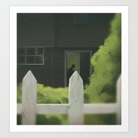 In The Window Art Print