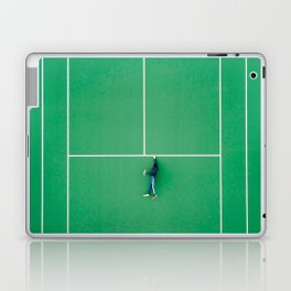 Tennis court green Laptop & iPad Skin