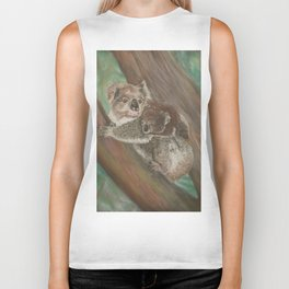Koala Love with Joey Biker Tank