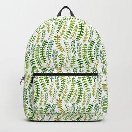 Fern Pattern Backpack