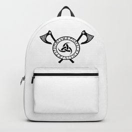 Norse Axe - Triple Horn of Odin Backpack