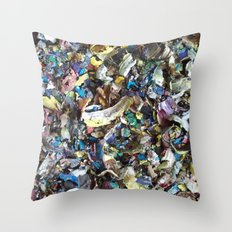 DRIED PAINT MASTERPIECES 2 Throw Pillow