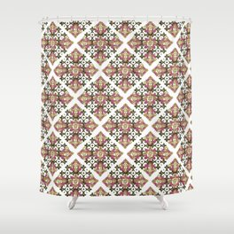 Tiles - mix Shower Curtain