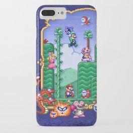 Mario Super Bros, Too iPhone Case