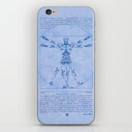 Proportions of Cyberman iPhone Skin